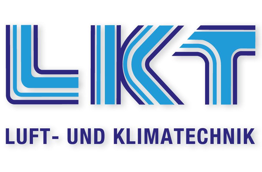 Logo LKT Luft- und Klimatechnik Design by blick-7 Designbüro und Werbeagentur zwischen Tübingen und Reutlingen